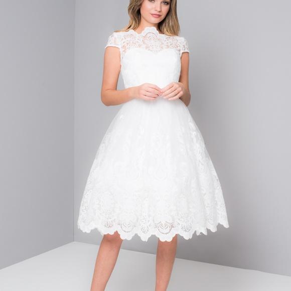 e601605a57e78 Chi Chi London Dresses   Skirts - Chi Chi London Aerin Dress in White